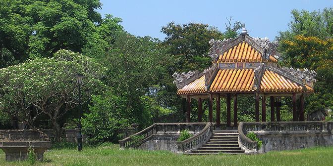 paviljoen citadel hue bezienswaardigheid