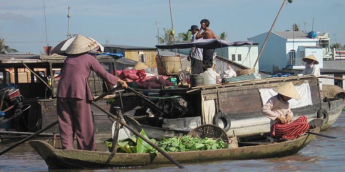 mekong delta tour markt