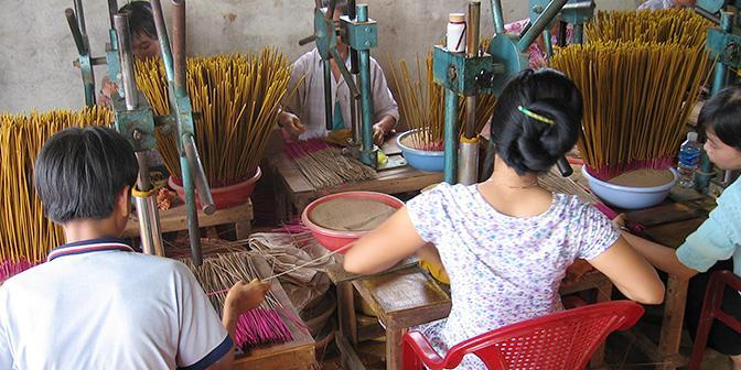 wierook maken vietnam