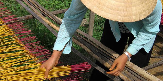 wierook mekong vietnam