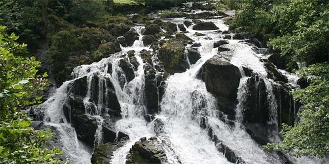 waterval snowdonia wales