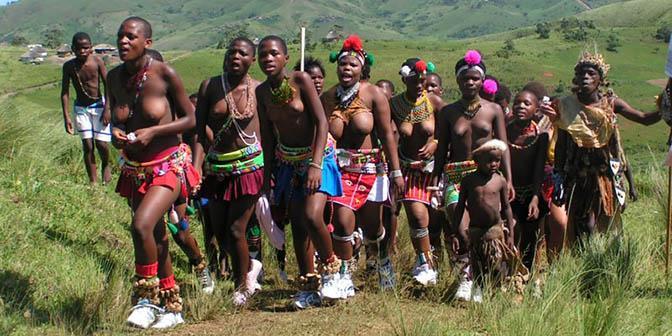 ceremonie zuid-afrika