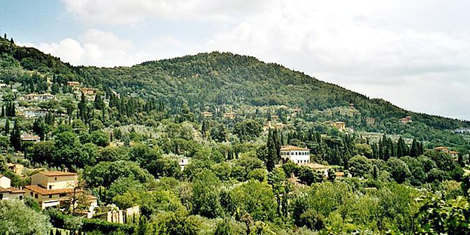 heuvels toscane