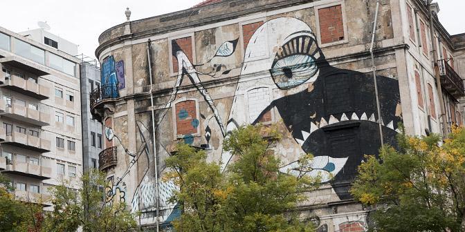 street art lissabon portugal