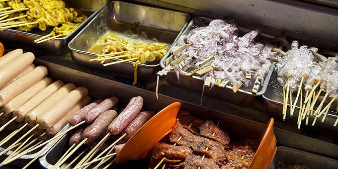 street food maleisie