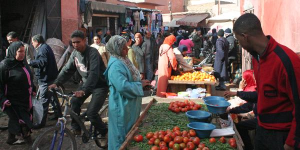 shoppenj in de medina