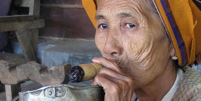 myanmar roken
