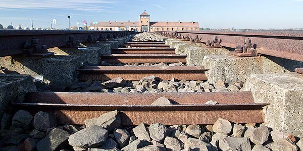het spoor naar Auswitch