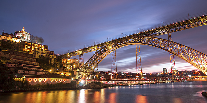 stedentrip porto luis brug