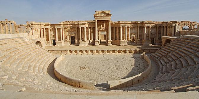 amfitheater palmyra